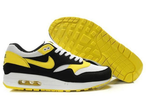 Nike Air Max 1 Mens Black/White-Yellow