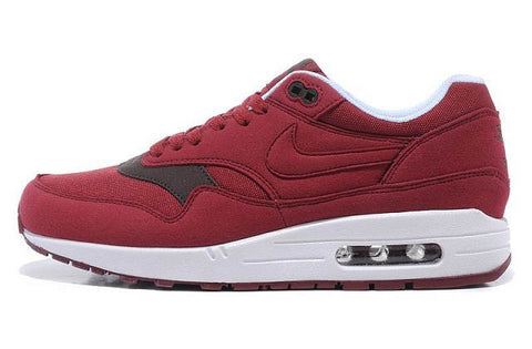 Nike Air Max 1 Mens Burgundy/White