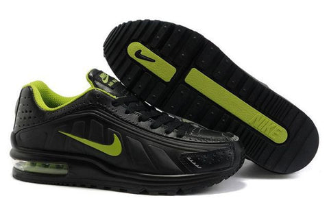 Nike Air Max R4 Mens Black Green