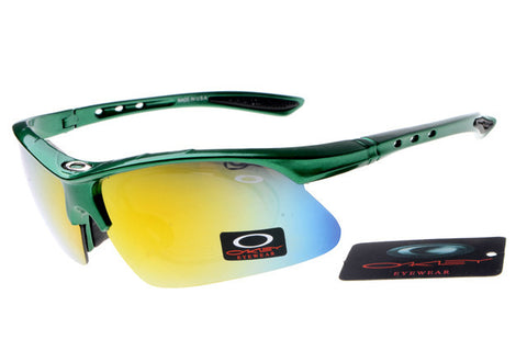 Oakley Commit Sq Semi-Rimless Green BHS