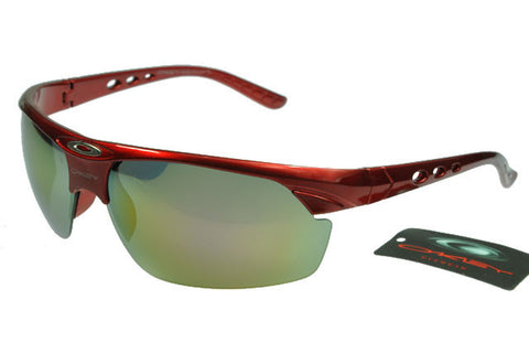 Oakley Commit Sq Semi-Rimless Red BHW