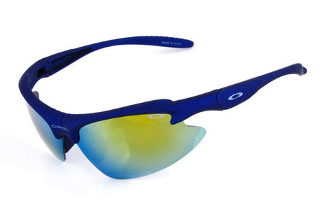 Oakley Commit Sq Semi-Rimless Navy BOL