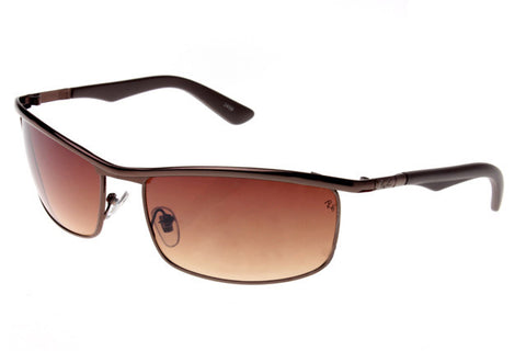 Ray Ban Active Lifestyle RB3459 Sunglasses Deep Brown Frame Brown Lens