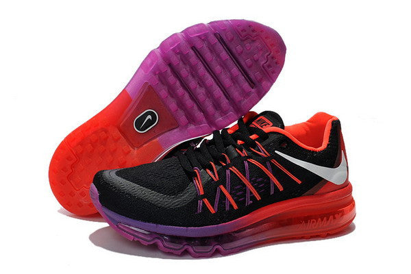 sports shoes a4706 2827e Nike Air Max 2015 Womens Shoes Black   Red   Purple – ray ban sunglasses