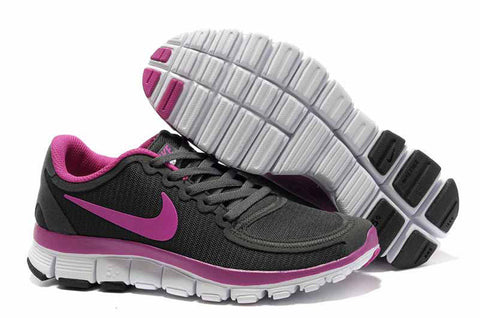 Nike Free Run 5.0 Dark Gray Pink Womens Shoes