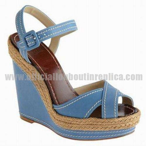 Almeria 120mm Espadrille Blue
