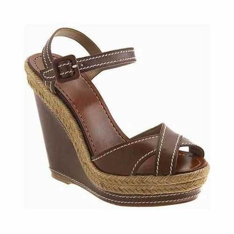 Almeria 120mm Espadrille Chocolate