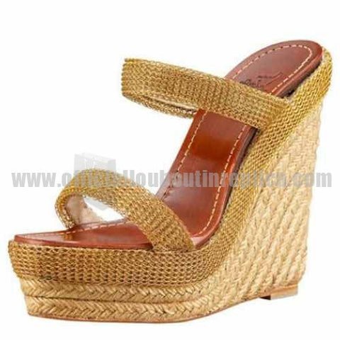 Almeria 120mm Espadrille Yellow