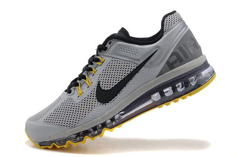 Air Max 2013 Men Grey Black Yellow M21055