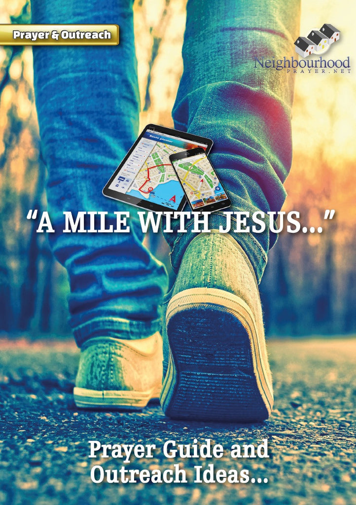 A Mile with Jesus Prayer Guide