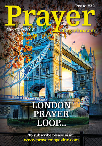 Prayer Magazine - #32 Nov/Dec '18 edition - (5 Pack)