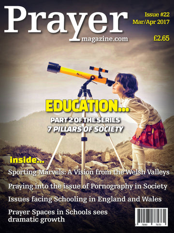 Prayer Magazine - Single Copy (#22 Mar/Apr 17 edition).