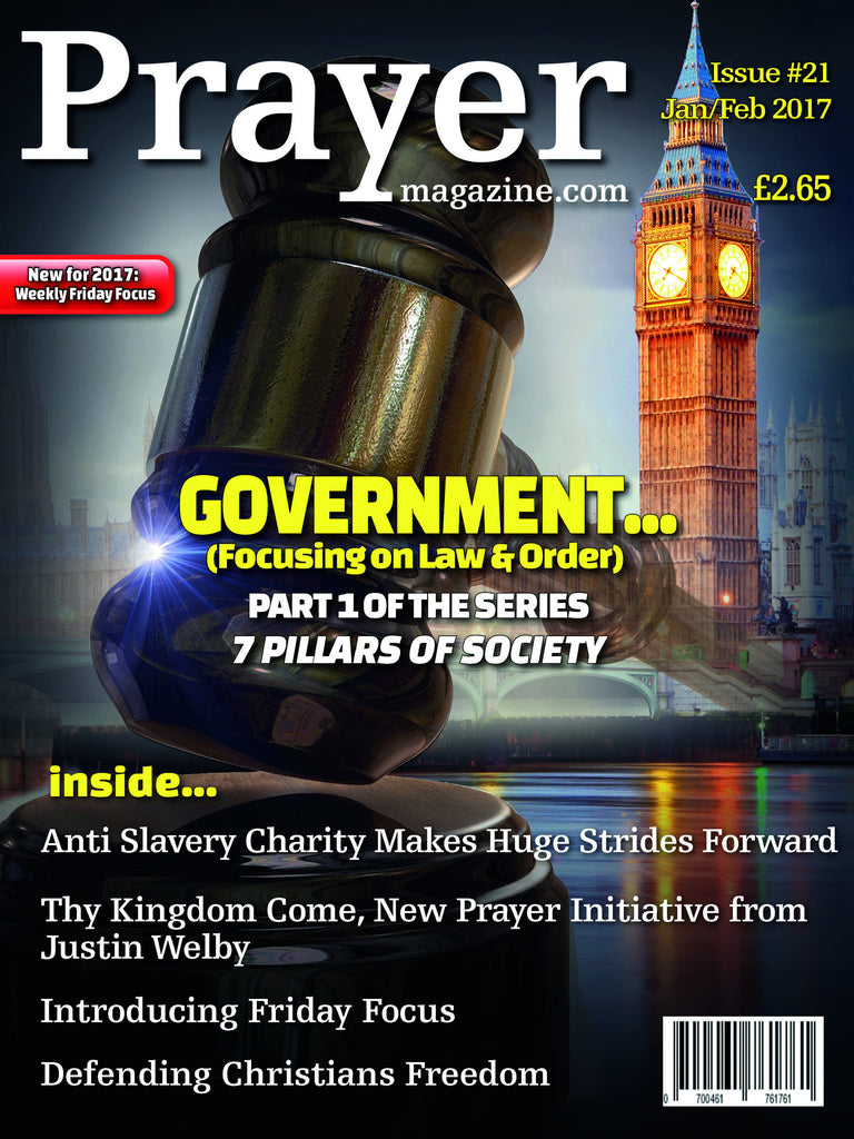 Prayer Magazine - Single Copy (#21 Jan/Feb 17 edition).