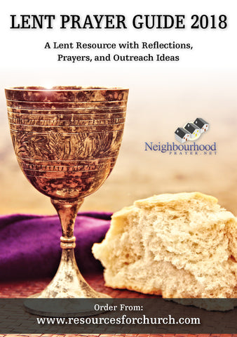 Lent Prayer Guide 2018 - Printed Copy (CLEARANCE)