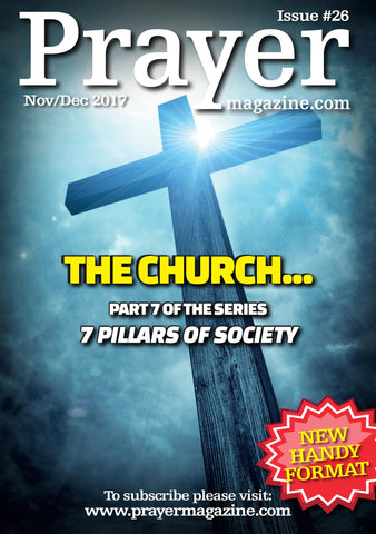 Prayer Magazine - Single Copy (#26 Nov/Dec 17 edition) - 62% off
