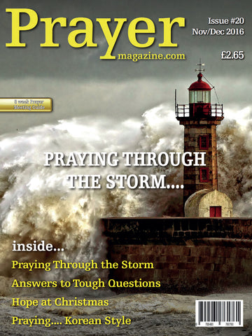 Prayer Magazine - Single Copy (#20 Nov/Dec edition).