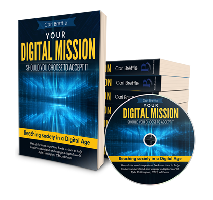Digital Mission (Hard Back, Audio Book & eBook Research Project)