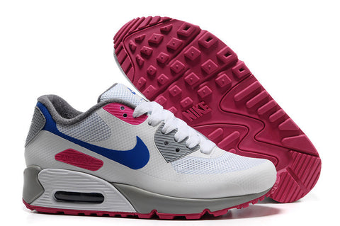 discount first rate latest Womens Nike Air Max 90 Hyperfuse Trainers Blue/Rose/White – cheap ...