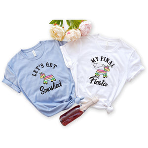 Final Fiesta Bachelorette Party Shirts, T-Shirt, [JcubedK]