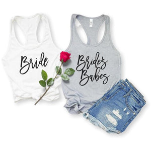 Bride and Bridesmaid Tank Tops, Tank Top, [JcubedK]