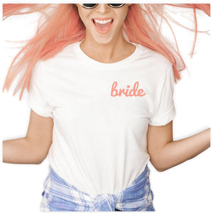Fun Bride Shirt, T-Shirt, [JcubedK]