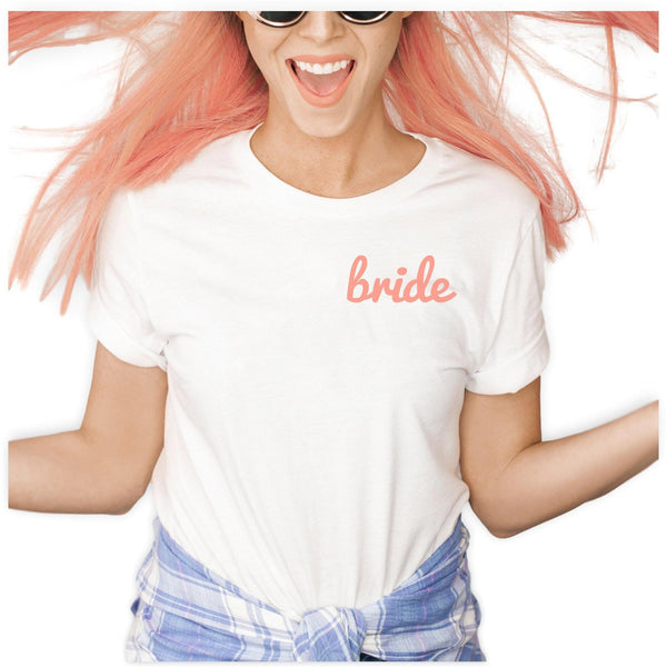 Fun Bride Shirt - jcubedk
