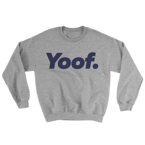 Adults 'Yoof.' Sweat