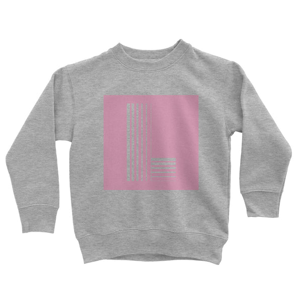 Kids Grey 'Square Letter' Sweat