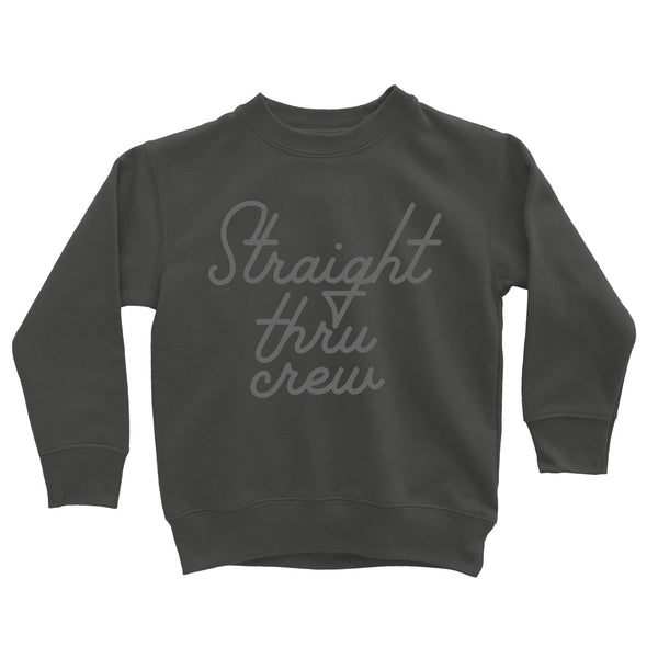 Ladies 'Straight Thru Crew' Sweatshirt