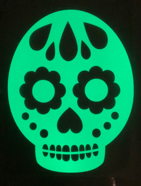 Kids Glow Skull Sweat