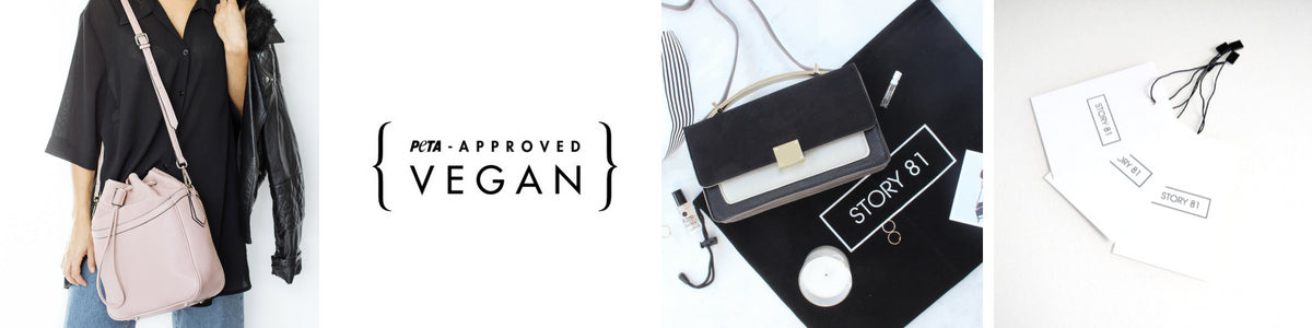 Stoy 81 - Vegan Handbags - Our Story Header