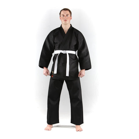 Karate Gi Club Black Uniform
