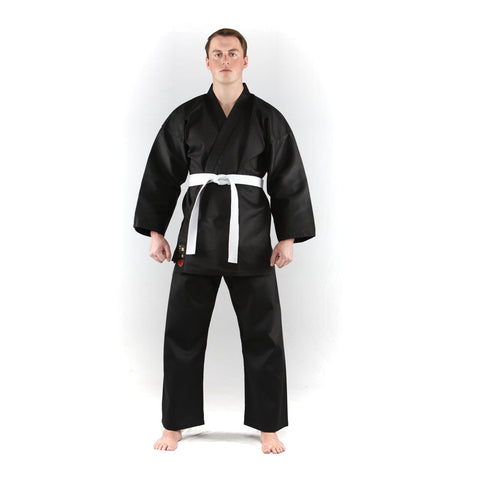 Black Karate Uniform Blitz