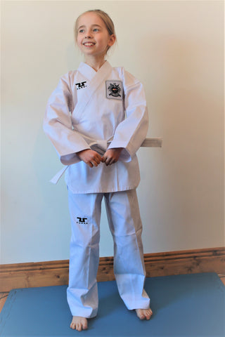 Tusah Easy-Fit Poomsae Kup Grade White Uniform