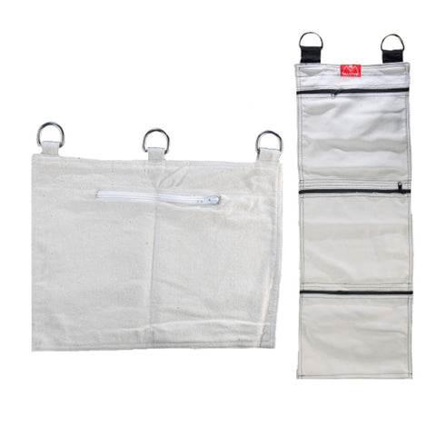 Three Section Wall Bag & One Section Wall Bag