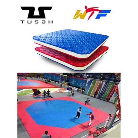 WORLD TAEKWONDO APPROVED TUSAH OCTAGONAL RING
