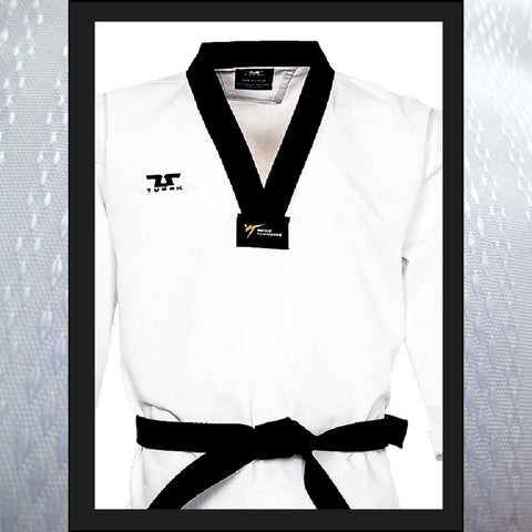 Adults Tusah Terra Black Belt Uniform