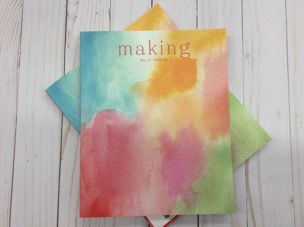 Making No. 5 Magazine