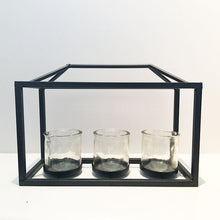 3 Glass Candle