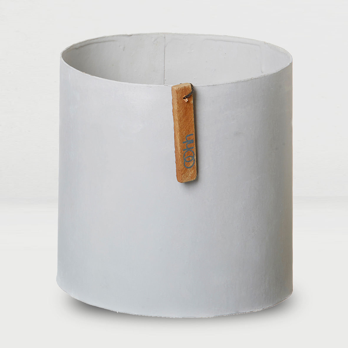 Large recycled paper pot