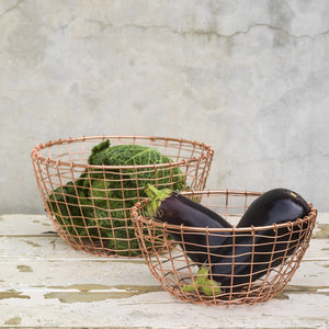Anula Copper Baskets