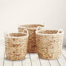 Rope handle basket