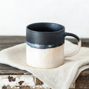 Black Dipped Mug