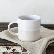 White Dipped Mug