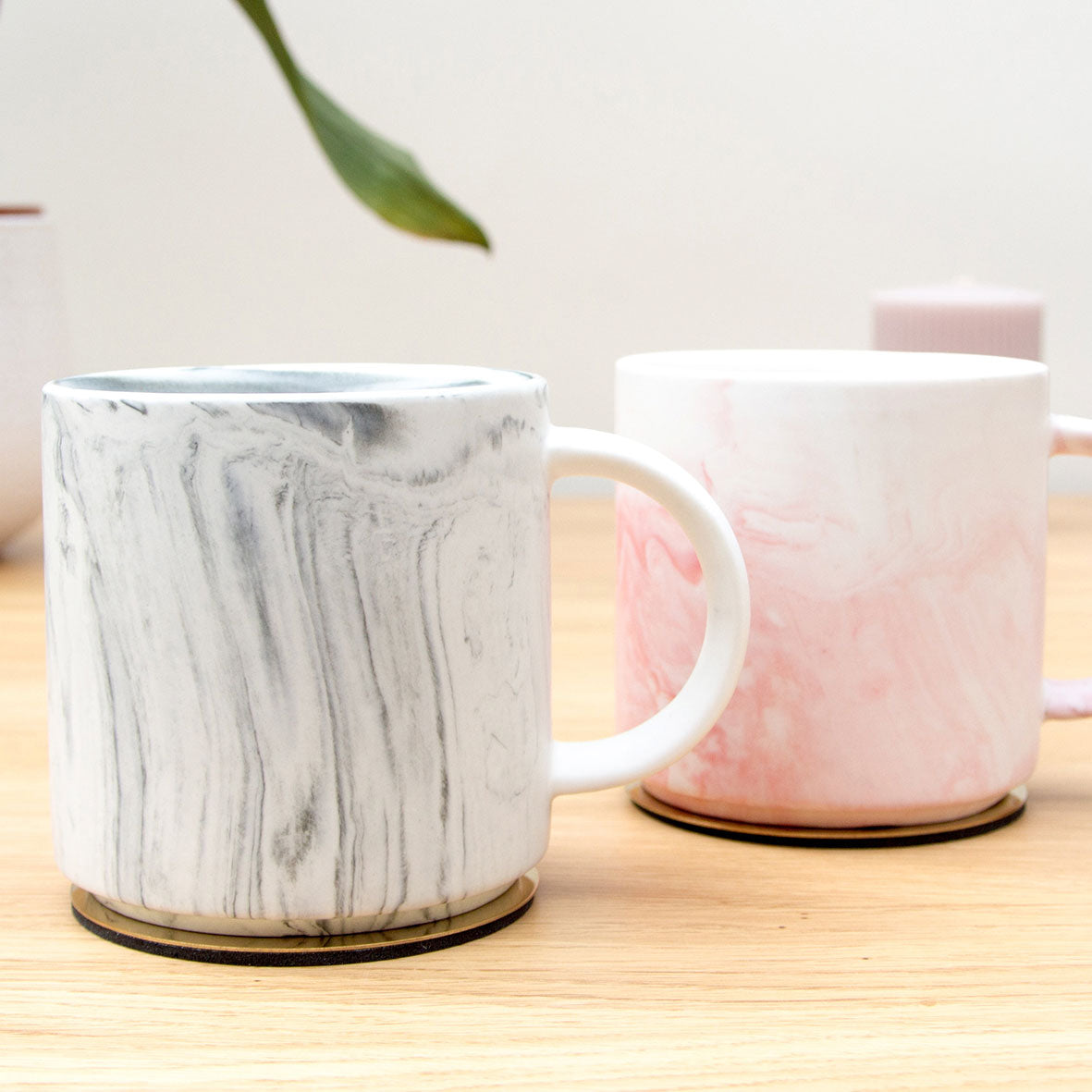 Marble Effect Mugs
