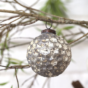 Honeycomb Bauble (Set of 4)