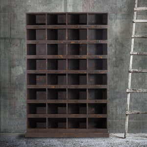 Wooden Locker Shelf