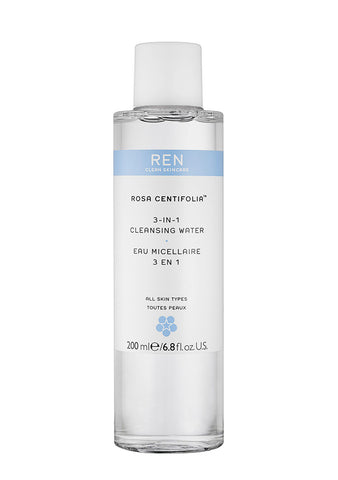 REN Skincare Rosa Centifolia™ 3-in-1 Cleansing Water