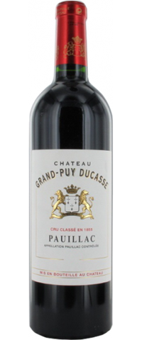 Chateau Grand Puy Ducasse 2012