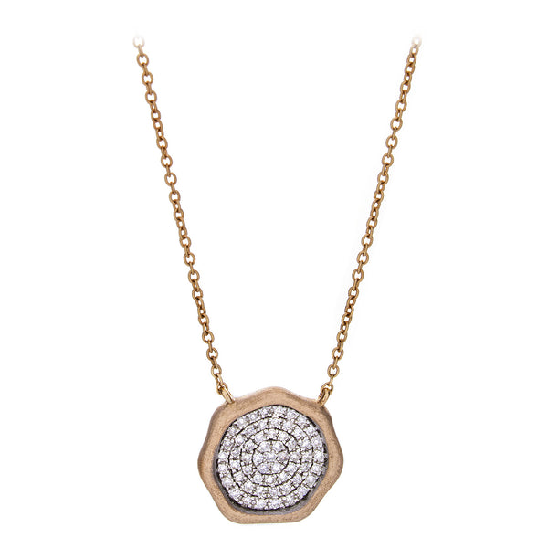Diamond Objet d'Art Necklace in Rose Gold - SOLD